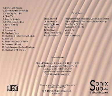 MOTA Retroactive sampler - back cover